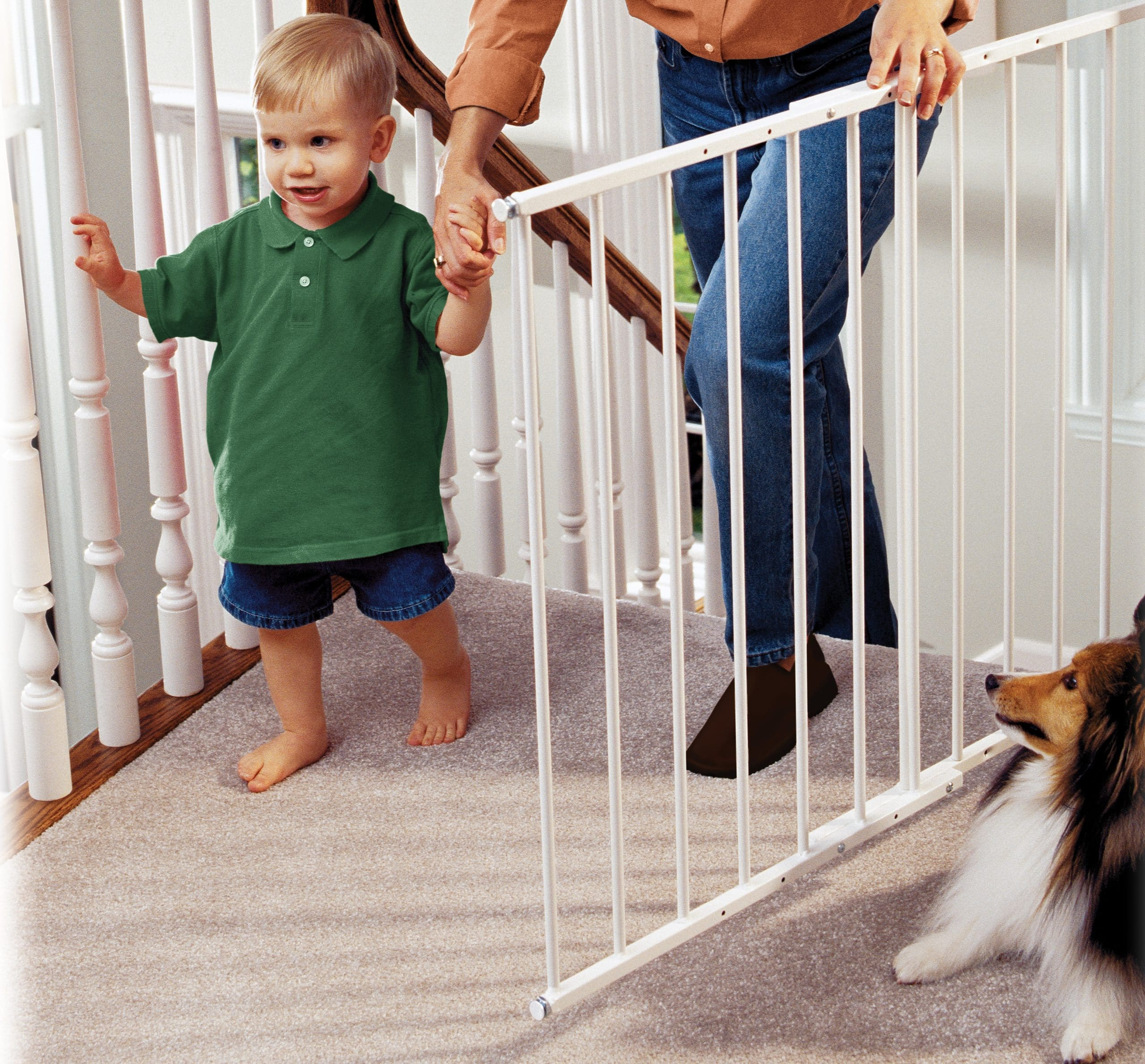 safeway ® top of stair baby safety gate -  top of stair baby safety gate bga